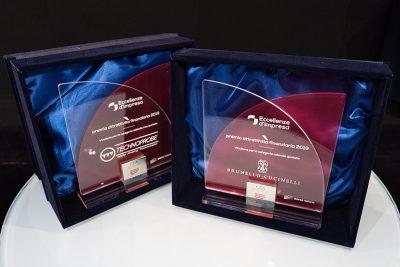 Targhe premio attrattività finanziaria 2019