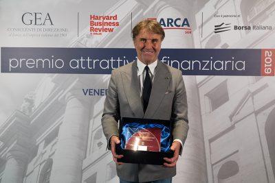 Vincitore aziende quotate Brunello Cucinelli (Presidente e AD di Brunello Cucinelli)
