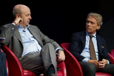Marco Fortis (Vicepresidente di Fondazione Edison) e Raffaele Jerusalmi (AD di Borsa Italiana)