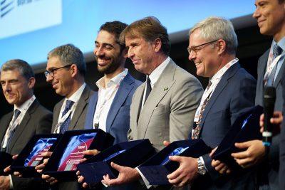 Momento finale della premiazione Attrattività Finanziaria 2019